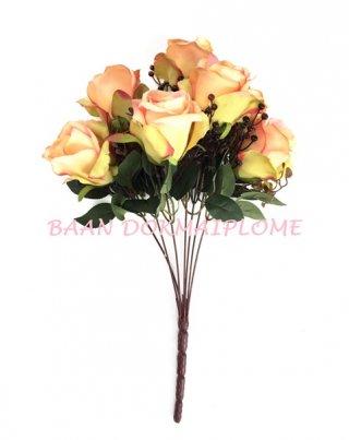 ดอกกุหลาบออทั่มส้ม