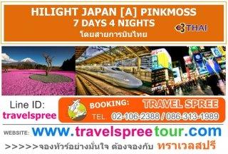 ทัวร์ญี่ปุ่น HILIGHT JAPAN [A] PINKMOSS 7 วัน 4 คืน