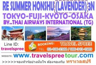 ทัวร์ญี่ปุ่น โตเกียว โอซาก้า RE SUMMER HONSHU 3 คืน