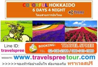 ทัวร์ญี่ปุ่น ฮอกไกโด COLORFUL HOKKAIDO 6 วัน 4 คืน