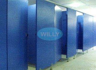 ขายผนังกั้นห้องน้ำสำเร็จรูป ยี่ห้อ WILLY