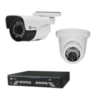 กล้องไอพีและเครื่องบันทึกภาพ TVI System