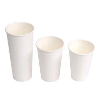 แก้วกระดาษสีขาว สำหรับร้านกาแฟ