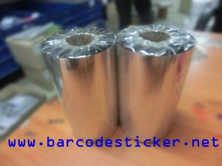 Ribbon Resin, Barcode Sticker