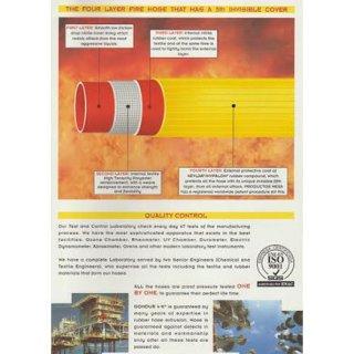 สายส่งน้ำดับเพลิง 4 ชั้น GOMDUR 4K
