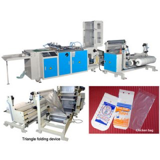 Side Sealing Chicken Bag Making Machine CWSS+C+SY-SV