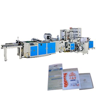 High Speed Zipper Bag Making Machine CW-500Z-SV