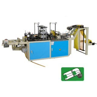 Perforating T-shirt Bags On Roll Machine CWAP+P-SV