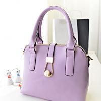 กระเป๋าถือแฟชั่นสีม่วง แบรนด์ Berry