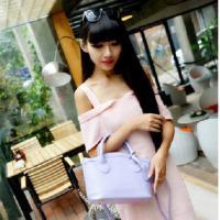 กระเป๋าสะพายแฟชั่นสีม่วง แบรนด์ Hikoko