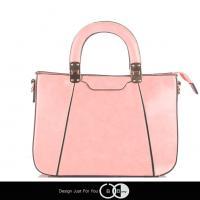 กระเป๋าแฟชั่นสะพายข้างสีชมพู แบรนด์ Berry