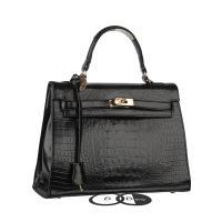 กระเป๋าแฟชั่นสะพายข้างสีดำ แบรนด์ BerryBag