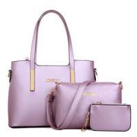 กระเป๋าแฟชั่น แบรนด์ Imfire Shop สีม่วงอ่อน