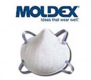 หน้ากากประเภทใช้แล้วทิ้ง ยี่ห้อ Moldex