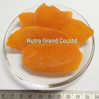มะม่วงอบแห้ง ผสมสีส้ม เต๋า 8-10 mm. (DHMS2)