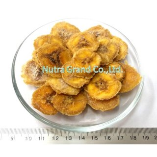 Dehydrated Banana coin slice (no sugar added) SFBAC1