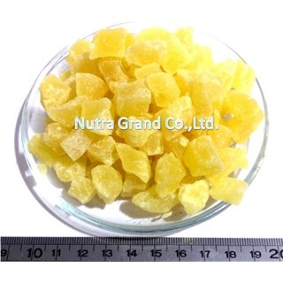Dehydrated Pineapple Flesh Dice 8-10mm. - Item no: DHPI8D1