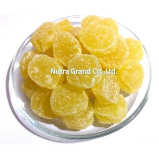 Dehydrated Pineapple Core chunk natural color Item no: DHPICC1