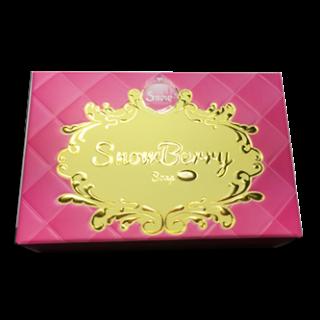 กล่องสบู่ Snowberry ปั้มเคทอง