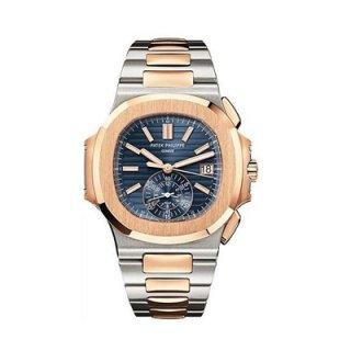 รับซื้อนาฬิกา Patek Philippe 5980/1AR-001 - Stainless Steel and Rose Gold - Men - Nautilus