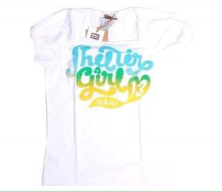 เสื้อยืดเด็ก ไซส์ 2-5 ปี สีขาวแขนสั้นพิมพ์ลาย