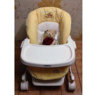 ไฮแชร์ Combi สีเบาะเหลืองหมีพู2