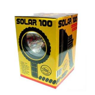 ไฟฉาย Solar 100 ชาร์จไฟรถ
