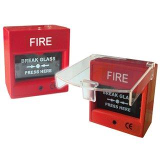 อุปกรณ์แจ้งเหตุไฟไหม้แบบกดมือ