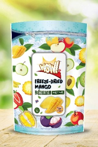 Premium freeze dried mango