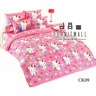 ชุดผ้าปูที่นอน TOTO ลายการ์ตูนรุ่น CK09