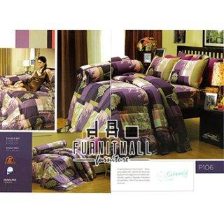 ชุดผ้าปูที่นอน SATIN รุ่น P106