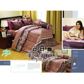 ชุดผ้าปูที่นอน SATIN รุ่น P123