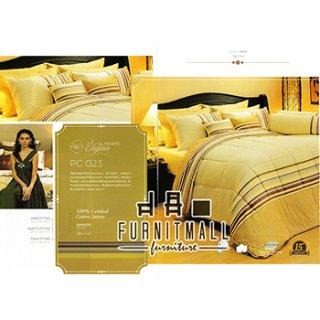 ชุดผ้าปูที่นอน SATIN รุ่น PC023