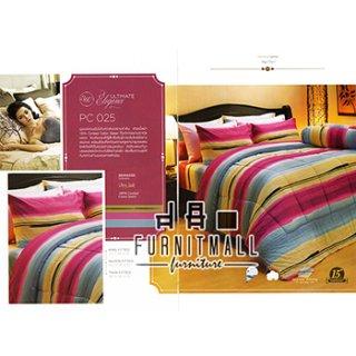 ชุดผ้าปูที่นอน SATIN รุ่น PC025