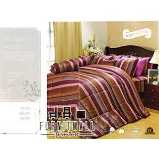 ชุดผ้าปูที่นอน SATIN รุ่น PC036