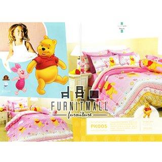 ชุดผ้าปูที่นอน SATIN ลายการ์ตูนรุ่น PK005