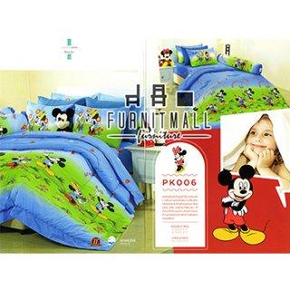 ชุดผ้าปูที่นอน SATIN ลายการ์ตูนรุ่น PK006