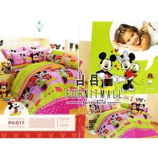 ชุดผ้าปูที่นอน SATIN ลายการ์ตูนรุ่น PK017
