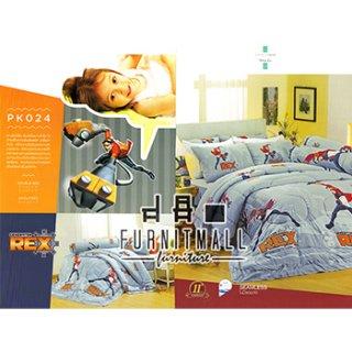 ชุดผ้าปูที่นอน SATIN ลายการ์ตูน รุ่น PK024