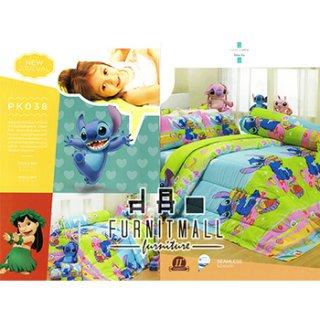 ชุดผ้าปูที่นอน SATIN ลายการ์ตูน รุ่น PK038