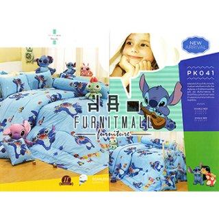 ชุดผ้าปูที่นอน SATIN ลายการ์ตูน รุ่น PK041