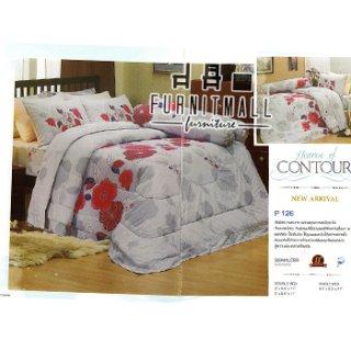 ชุดผ้าปูที่นอน SATIN รุ่น P126