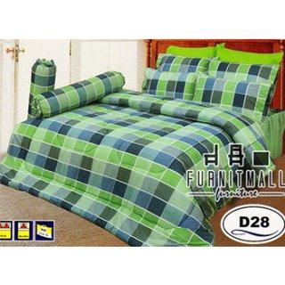 ชุดผ้าปูที่นอน SATIN ลายการ์ตูน รุ่น D28