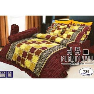 ชุดผ้าปูที่นอน SATIN รุ่น 728