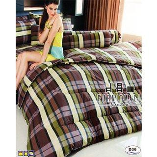ชุดผ้าปูที่นอน SATIN รุ่น D36