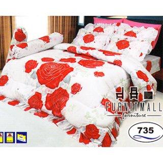ชุดผ้าปูที่นอน SATIN รุ่น 735