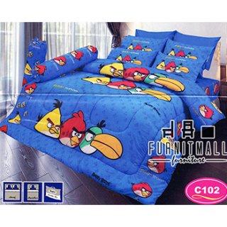 ชุดผ้าปูที่นอน SATIN ลายการ์ตูน รุ่น C102