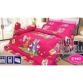ชุดผ้าปูที่นอน SATIN ลายการ์ตูน รุ่น C103