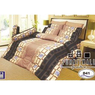 ชุดผ้าปูที่นอน SATIN รุ่น D41