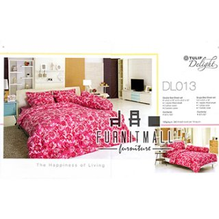 ชุดผ้าปูที่นอน TULIP รุ่น DL013